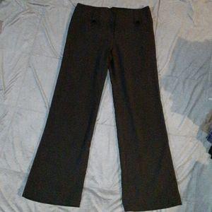 IZ Byer juniors 11 black dress pants, NY Fit